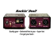 Radial Engineering Usbpro Direct Box Usb Usb-Pro Di w/ Free Fedex 2 Day Ship!