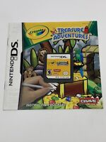 Crayola Treasure Adventures Nintendo Ds (2007) Tested And Works - With Manual!