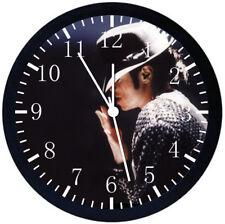 Michael Jackson Black Frame Wall Clock E159