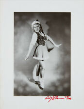 """CINDY SHERMAN """"UNTILTED (ICE SKATER)"""" 1979   RARE SIGNED GELATIN SILVER PRINT"""