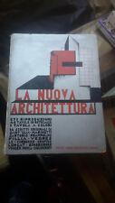 1931 FUTURISMO LA NUOVA ARCHITETTURA GROPIUS LE CORBUSIER FILLIA RAZIONALISMO