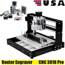 Mini Cnc 3018 Pro Router Kit Engraver Engraving Cutting Machine Milling Printer