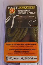 Hoppe's Boresnake 9mm Pistol Bore Cleaner Hoppes Bore Snake Cleaner