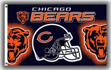 Chicago Bears Football Flag 90x150cm 3x5ft Fan Apparel Best Team Banner