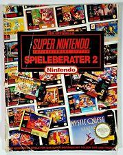 Original Nintendo Spieleberater SUPER NINTENDO 2 dt. Mario/Street Fighter/Quest