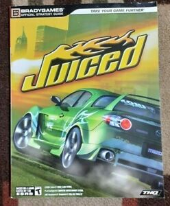 Juiced Bradygames Official Strategy Game Guide