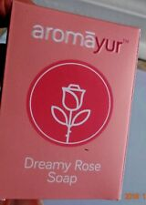 DREAMY ROSE SOAP ROSE WATER SHEA BUTTER COCONUT OIL ALOE VERA AROMA FRAGRANCE