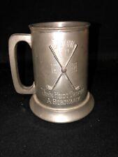 1968 4 7/8� Ludlow Country Club Golf Trophy Ludlow Ma