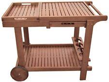 Servierwagen Holz Serviermöbel Teewagen Beistellwagen Rollwagen Beistelltisch