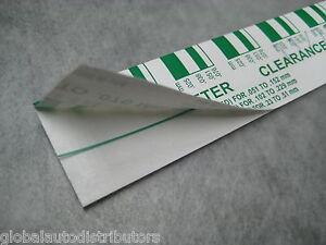 Green PLASTIGAGE .025 - .076mm (.001-.003 inch) - One Piece - Ships Fast!