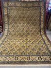 7X11FT Very Rare Antique Handmade Mahi Design tribal high quality Wool Kashmiri