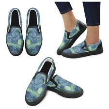 Starry Night Vincent Van Gogh Art Slip-on Canvas Men's Shoes US Size 6-12