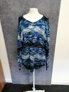Ladies Long Sleeve Jumper By Izabel London (size 16) BNWT