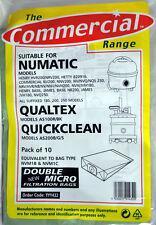 The Commercial Range Paper Bags For QuickClean, Henry, Qualtex, Numatic FIL-1401