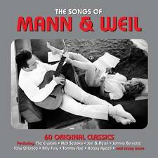 THE SONGS OF MANN & WEIL - 60 ORIGINAL CLASSICS (NEW SEALED 3CD)