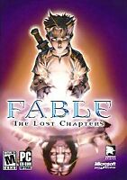 Fable The Lost Chapters PC 4 CD-ROM Game 2005 RPG Disks Microsoft Win 10