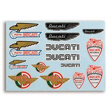 DUCATI Historical 3D Aufkleber Sticker Decal Set NEU !!