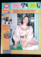 Point de Vue 17/08/1984; Diane, duchesse de Wurtemberg/ Gala de la Croix Rouge