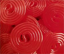 Broadway Red Strawberry Licorice Wheels - 8.8 POUNDS - Bulk Candy FREE SHIPPING