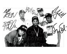 NWA signed Eazy E Ice Cube Dr Dre 8X10 photo picture poster autograph RP