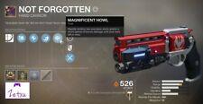 Not Forgotten Destiny 2 2100-5500 points + 300 Luna kills [XBOX ONE]