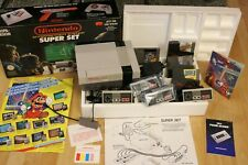 Nintendo Entertainment System Super Set NES in OVP +Zubehörpaket