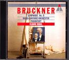 Eliahu INBAL: BRUCKNER Symphony No.0 d-moll TELDEC CD Frankfurt Radio Orchestra