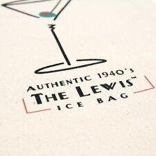 Lewis Ice Bag, Retro 1940's style