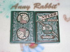 1 DECK Antler (green) Playing Cards New Deck S103199993