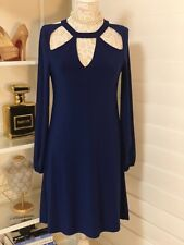 Pre-Owned Women's Norma Kamali Dress, Blue, Sz Medium
