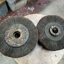 "SET OF 2   WHEEL FINISHING POLISHING BRUSHES 8"" x2"""