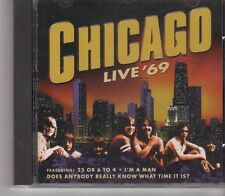 (FX735) Chicago, Live '69 - 1999 CD