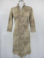 J McLaughlin Womens Bedford Dress Catalina Cloth Reptile Print Size XS