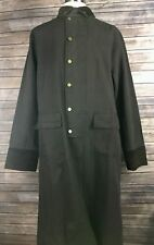 Scully Mens M Brown Canvas Trench Workwear Cowboy Ranch Coat Western Jacket NICE