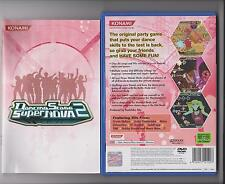 DANCING STAGE SUPERNOVA 2 Playstation 2 PS2 PS dancemat GAME