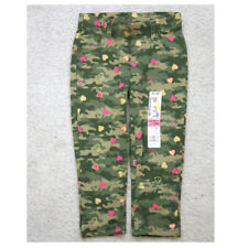 New Garanimals Toddler Pants 2T Green Camouflage Cotton Blend Kids Hearts L24