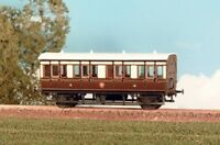OO coach kit - GWR 4 Wheel (composite) 1890-1902 - Ratio 612 - free post