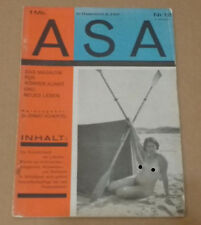 ASA Das Magazin für Körper, Kunst und neues Leben, 2 Jahrgang Nr. 12 1927