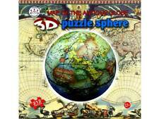 3D SPHERE MAP OF THE ANTIQUE GLOBE 212 PCS JIGSAW PUZZLE BRAIN TEASER MIND BEND