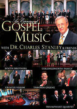 Gospel Music with Dr. Charles Stanley DVD In Touch Collingsworth Booth Brothers