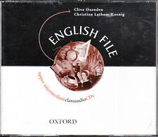 Oxford ENGLISH FILE Upper-Intermediate Class Audio CDs 2001 Ed Out of Print @NEW