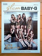 SNSD Girls' Generation/Casio Baby G Bromide Poster(Double face)/October 2014