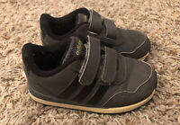 Adidas NEO Label Toddler Kids Boys Girls Gray Casual Sneaker size 7K VG USED
