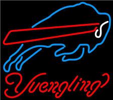 "New Yuengling Buffalo Bills Bar Beer Neon Light Sign 20""x16"""
