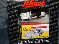 #450559800 Schuco Piccolo Montage Encadré Porsche-monteur 356-1:90