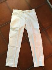 Pantalone BROOKS BROTHERS tg.38. Colore bianco. Usati pari al nuovo