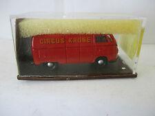 """Brekina 1/87 3202  VW Bus  """"Zirkus Krone""""  WS300"""