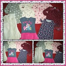 LOT OF SUMMER CLOTHES DRESSES OLD NAVY GYMBOREE MY LITTLE PONY GIRLS SIZE 5T 5