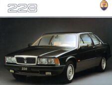 Maserati 228 Prospekt, 1988