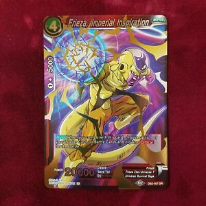 Dragon Ball Super FRIEZA, IMPERIAL INSPIRATION DB2-007 SR MINT~DBZ JU08